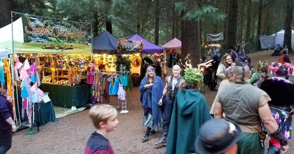 Faerie Worlds  Fairy Festival - North Plains, OR
