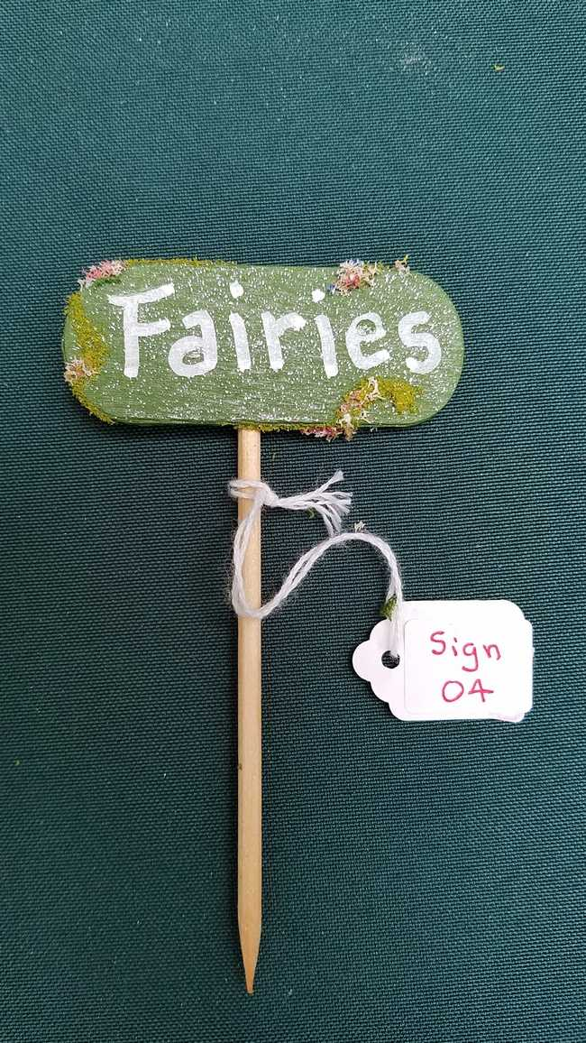 Sign - *Fairies* -  4