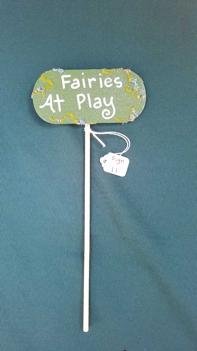Sign - *Fairies At Play* - 9.5