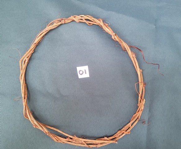 Woven Grapevine Hair Wreath - 8''  Across - Fits Child or Adult - Festival - Wood Nymph - Handmade